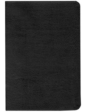 NASB Giant Print Reference Bible - Personal Size - Black, Bonded Leather