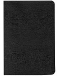 NASB New Testament with Psalms and Proverbs - Black, Bonded Leather