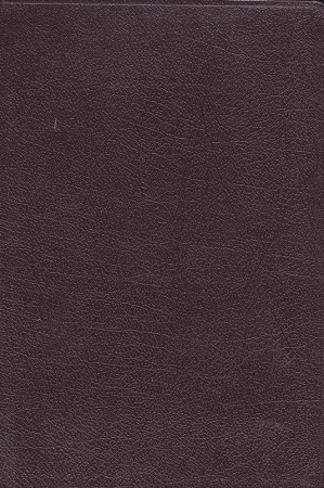 NASB Compact Reference Bible - Burgundy, Bonded Leather