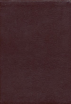 NASB Thinline Reference Bible - Burgundy, Genuine Leather