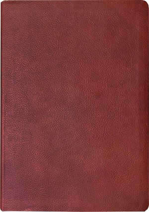 NASB 2020 Large Print Ultrathin Reference Bible - Standard Size - Maroon, Leathertex