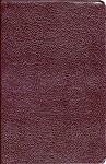 NASB Life Application Study Bible - Burgundy Bonded Leather Thumb Indexed